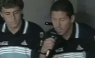 Argentina: ruptura con la prensa tiene antecedente con Simeone