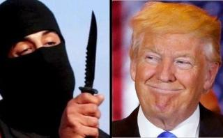 """Estado Islámico sobre Donald Trump: """"Es un maníaco total"""""""
