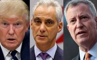 Grandes ciudades en guerra contra plan de deportación de Trump
