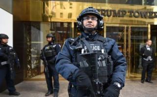 [BBC] El gran despliegue policial que protege a Donald Trump