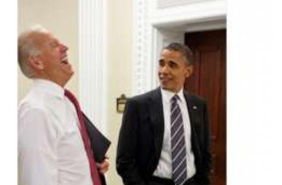 [BBC] Los memes de lo que Obama y Biden piensan sobre Trump