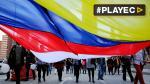 Colombianos respaldan nuevo acuerdo de paz con FARC [VIDEO] - Noticias de rodrigo messi