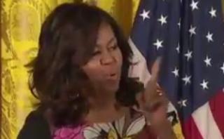 """Así reaccionó Michelle cuando la llamaron """"señora presidenta"""""""