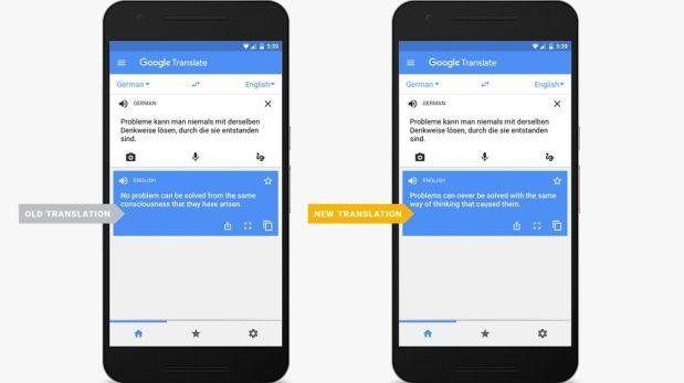 Google Traductor se hace más preciso con su nuevo algoritmo