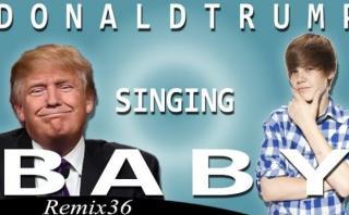 """YouTube: ¿Donald Trump 'cantaría' así """"Baby"""" de Justin Bieber?"""