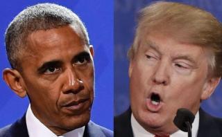 Obama: Espero que Trump tenga voluntad de hacer frente a Rusia