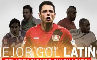 Bundesliga: Chicharito ganó a Pizarro premio a mejor gol latino