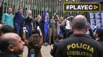 Brasil: Irrumpen en Congreso y piden golpe militar [VIDEO] - Noticias de michel canta