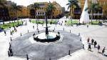 Lima culminó restauración de pileta de Plaza de Armas [FOTOS] - Noticias de jorge pinto