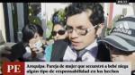 Arequipa: esposo de mujer que raptó a bebé negó ser cómplice - Noticias de maria martinez