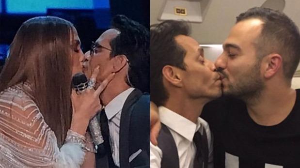 Grammy Latino: Marc Anthony publica foto de nuevo beso