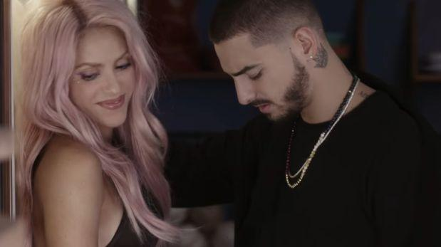 "YouTube: Maluma y Shakira presentan el video de ""Chantaje"""