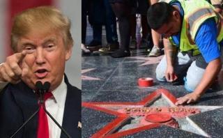 Hombre que destruyó estrella de Trump podría ir 3 años preso
