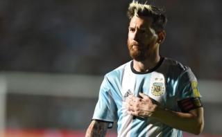 Lionel Messi tuvo noble gesto con personal de seguridad de AFA