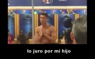 Cristiano: video inédito de charla que dio tras ganar Eurocopa