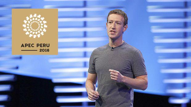 Mark Zuckerberg llegó a Perú para dictar conferencia en APEC