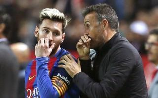 Messi: el deseo de Luis Enrique sobre el futuro de la 'Pulga'