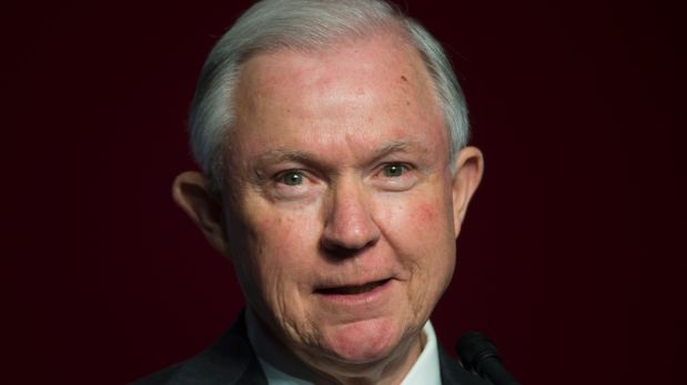 Jeff Sessions. (AFP)