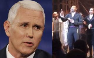 Vicepresidente de Trump fue abucheado durante obra de teatro