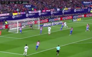 Real Madrid: gran atajada de Oblak que impidió gol de Cristiano