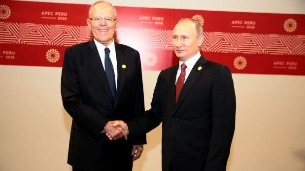 Las palabras de Vladimir Putin tras su paso por el Perú — APEC