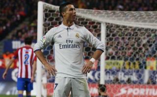Mira el hat-trick de Cristiano Ronaldo en el derbi español