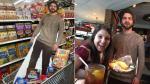 """Facebook: Familia """"pasea"""" con una foto de hijo en tamaño real - Noticias de dalton ghetti"""