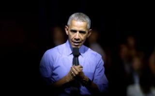 La presentación de Obama desde adentro y la seguridad alrededor