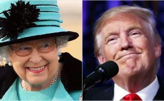 Reina Isabel II invitará a Trump a visitar el Reino Unido