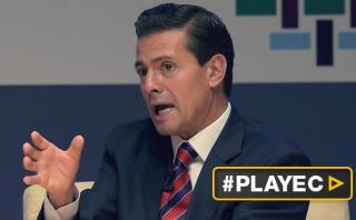 """Peña Nieto: """"México privilegiará el diálogo con EE.UU."""" [VIDEO]"""