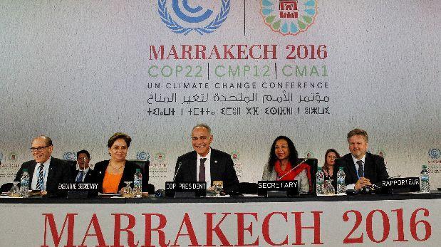 Principales ONG deploran resultado modesto de la COP22