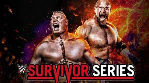 Goldberg vs. Brock Lesnar EN VIVO pelean por la WWE Survivor Series