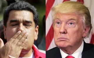 """Maduro: """"Espero que con Trump mejoren relaciones con EE.UU."""""""