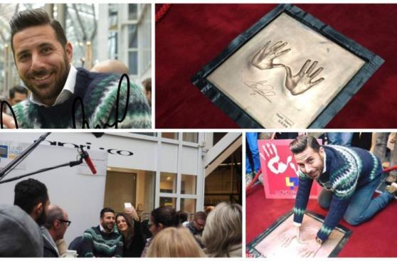 Pizarro: las postales de su ingreso al Hall of Fame de Bremen