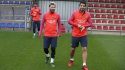 Messi volvió a entrenar con Barcelona y apunta a la Champions