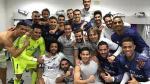 Real Madrid celebró en el vestuario tras ganar derbi español - Noticias de nacho fernandez