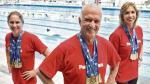 Natación: los masters de las medallas y los récords - Noticias de sandra cabo