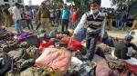 India: Así quedó el tren descarrilado que mató a más de 100 - Noticias de vias del tren