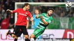 Con Pizarro: Werder Bremen cayó 2-1 ante Eintracht Frankfurt - Noticias de philipp bargfrede