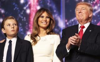 [BBC] Melania y su hijo no vivirán en la Casa Blanca ¿Por qué?