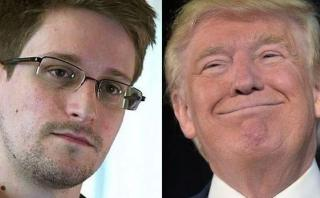 "Snowden: ""Poco importa Donald Trump, solo es un presidente"""