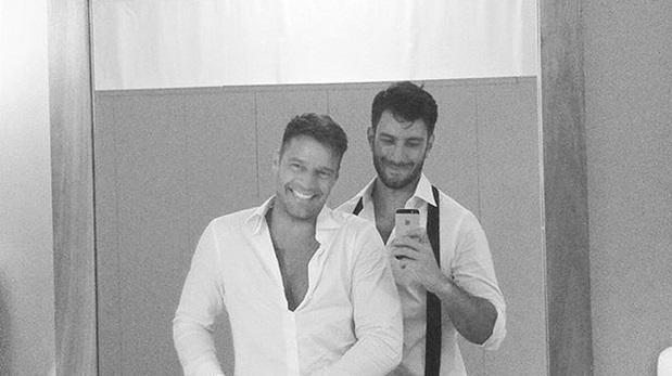 Ricky Martin revela detalles de su boda con artista sirio