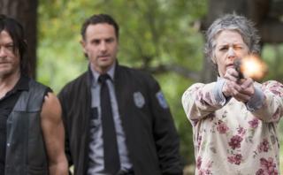 """""""The Walking Dead"""" reclama un lugar en el cine"""