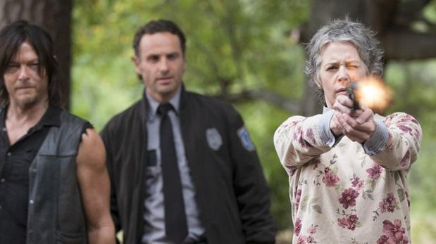 """The Walking Dead"" reclama un lugar en el cine"