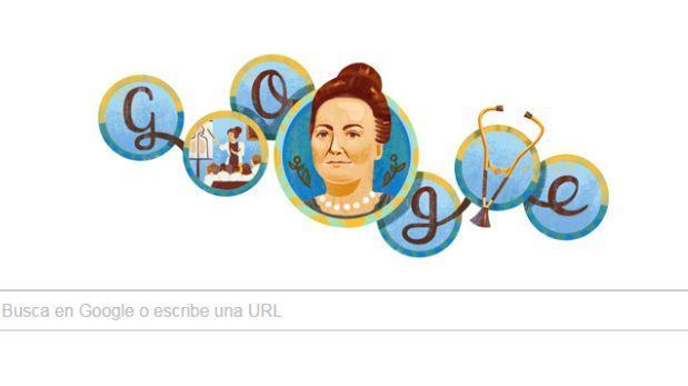 Google recuerda a Cecilia Grierson, la primera médica argentina