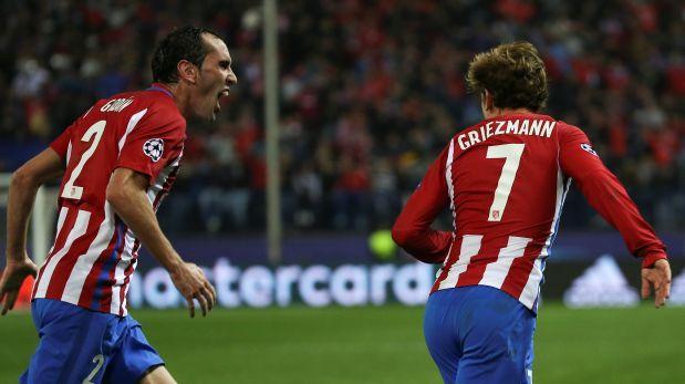 Atlético de Madrid ganó al PSV Eindhoven y es primero de grupo