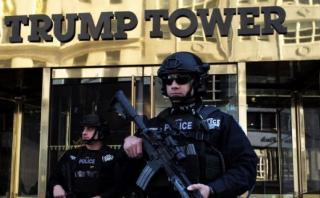 Nueva York gasta US$1 millón al día en seguridad para Trump