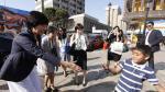 Primera dama japonesa recorrió el Callao Monumental [FOTOS] - Noticias de cristina galvez