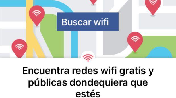 ¿Buscas una red wifi? Facebook te ayuda a ubicarlas