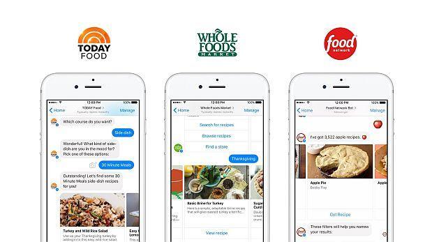 Conoce los 3 'bots' que te proporcionan recetas en Facebook